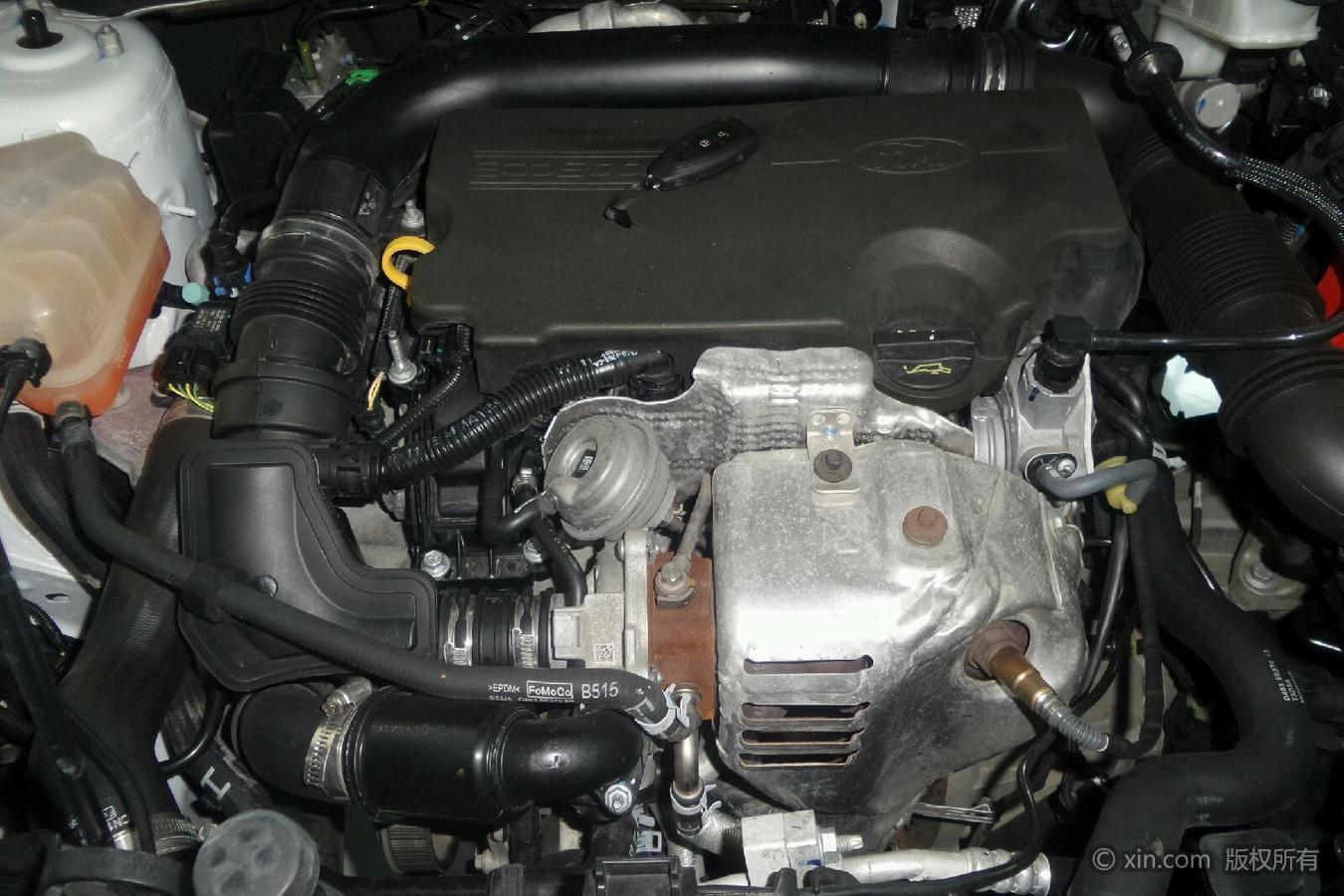 福特翼搏发动机特写