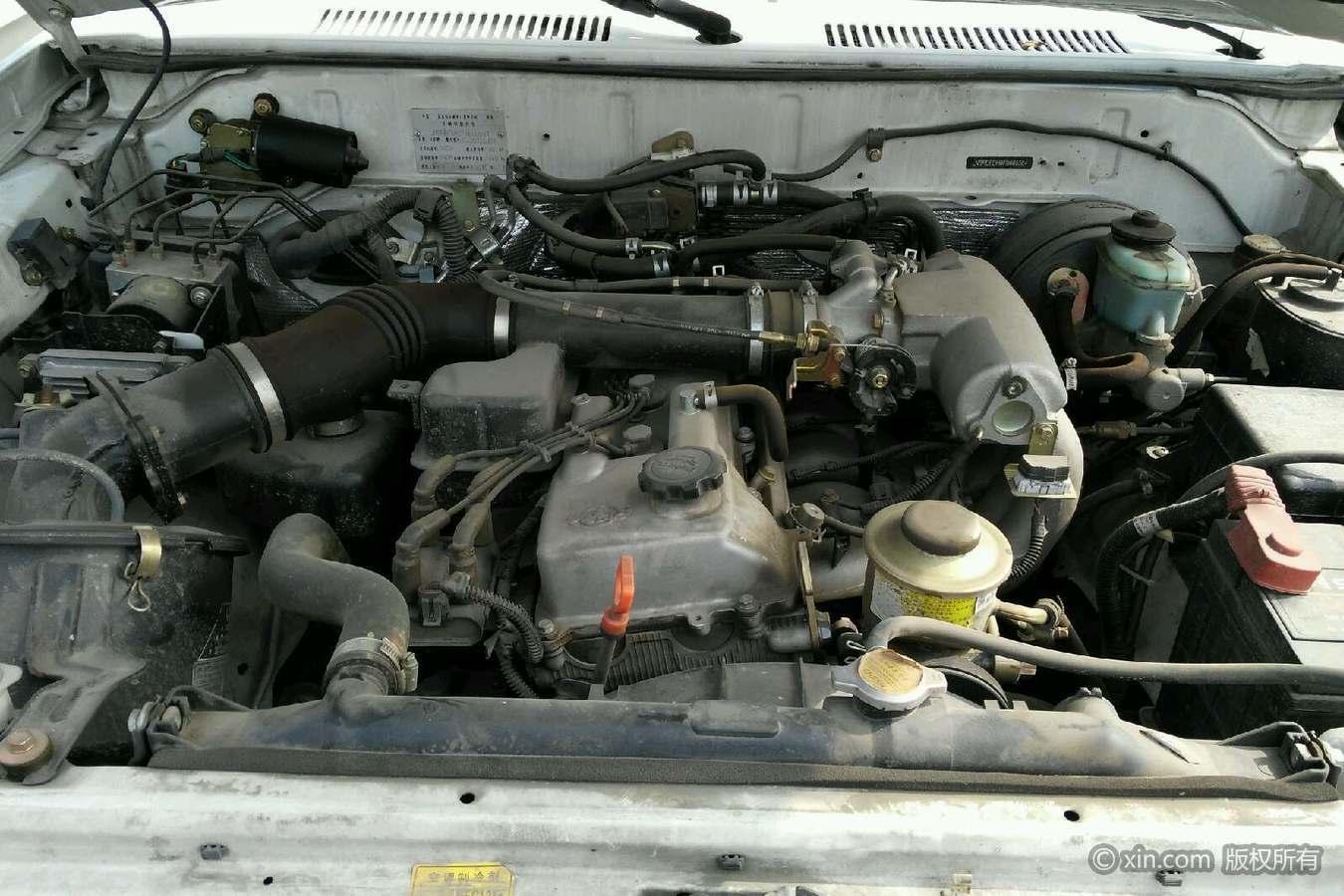 北汽制造 陆霸 2012款 2.4 手动 四驱全价9.50万