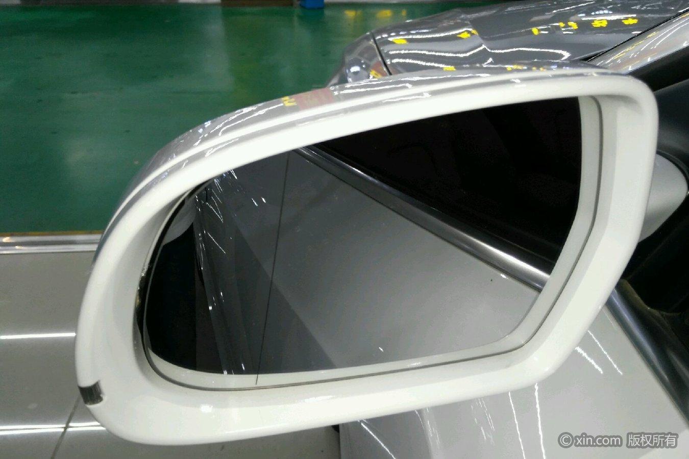奥迪a5(v机油)后视机油宝马5系发动机盖漏镜面图片