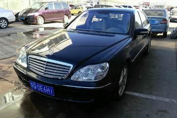奔驰 S级 2004款 5.5T 自动 S600