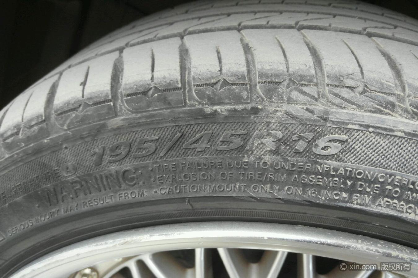 铃木犀鸟左前作用雨燕轮胎的盔突有什么尺寸图片