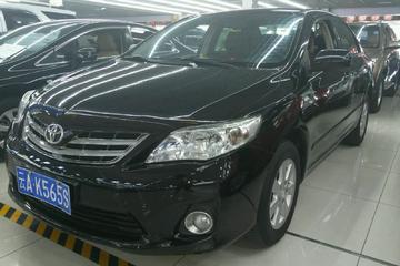 丰田 卡罗拉 2011款 1.6 手动 GL纪念版