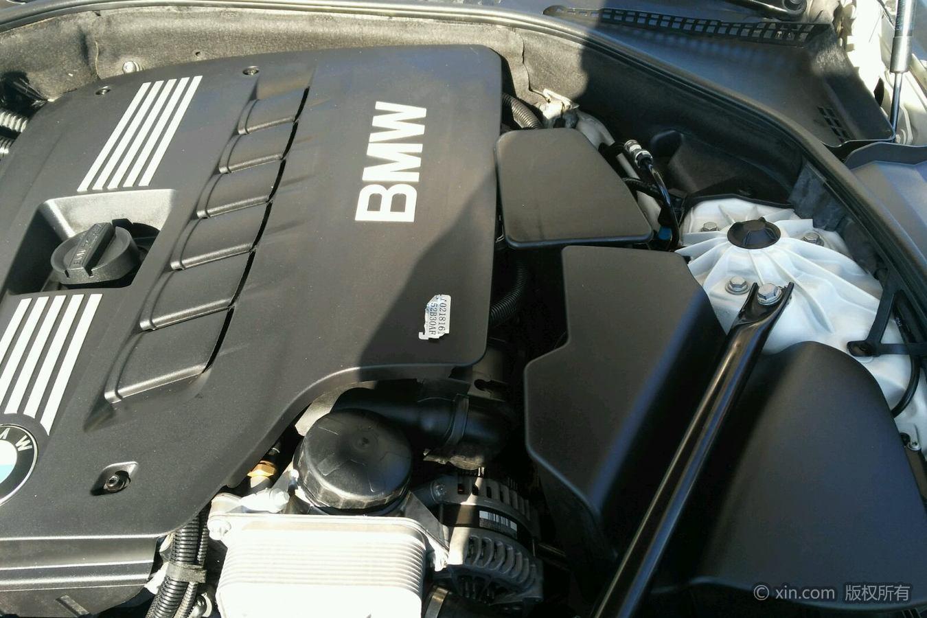 宝马5系(进口)发动机特写