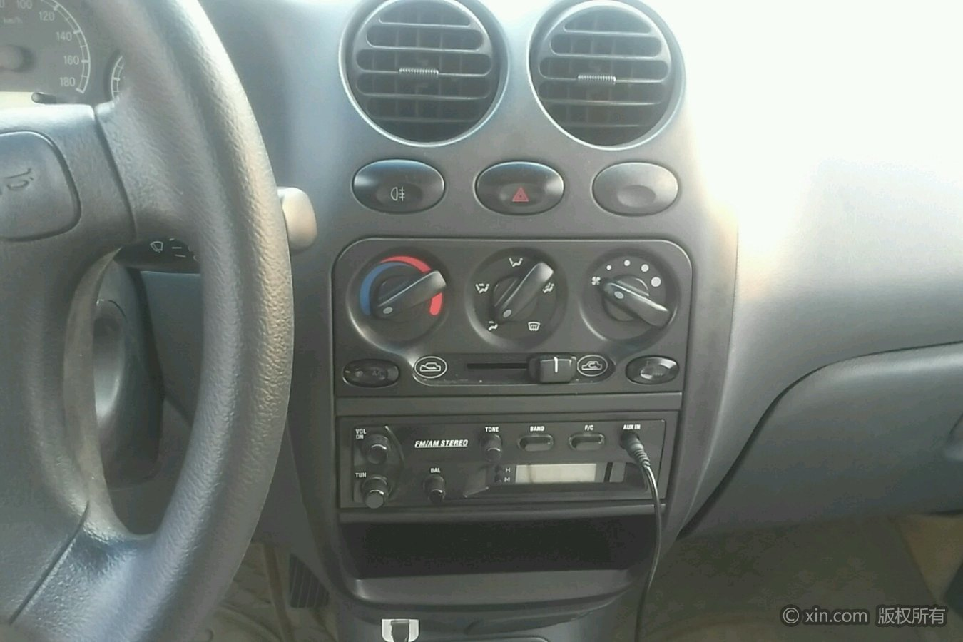 雪佛兰乐驰空调调节区