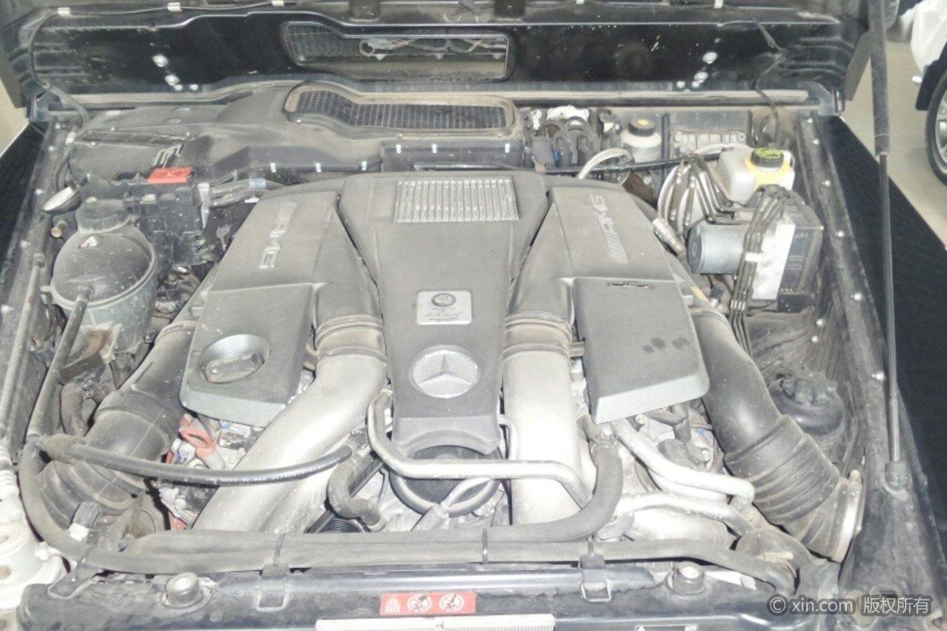 奔驰G级AMG发动机