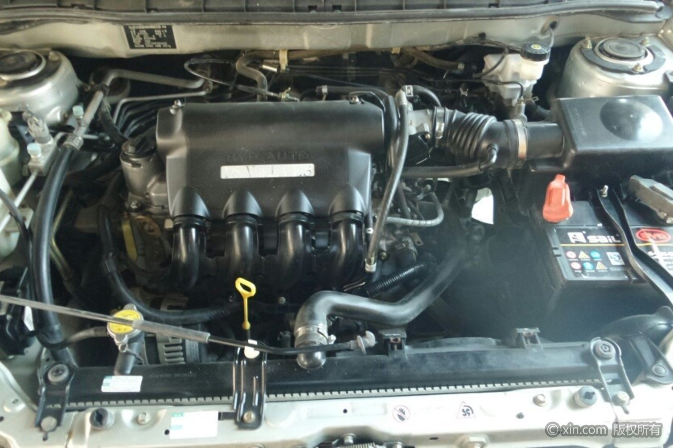比亚迪L3发动机