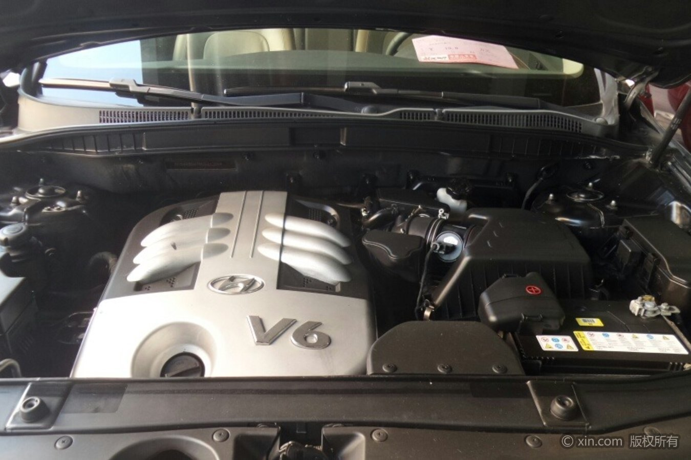 现代维拉克斯发动机