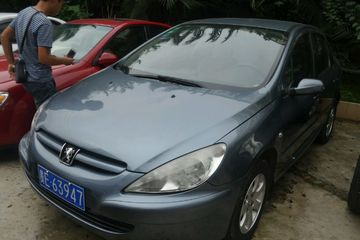 标致 307三厢 2006款 1.6 自动 XT舒适版